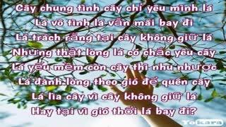 KARAOKE | Luật Đời - Hoàng Minh ( Hòa Âm Mới ) | TONE NỮ ( Tone Gbm )